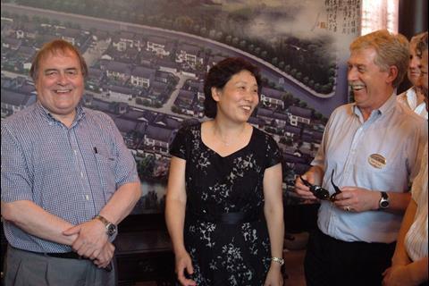 John Prescott, Li Shirong and Alan Crane